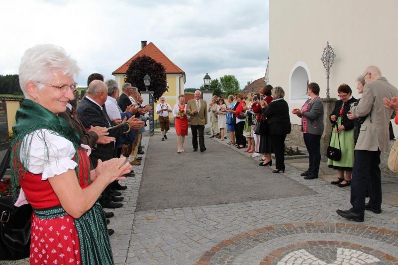 Sallingstadt Goldene Hochzeit Von Walter Und Herta Liebenauer